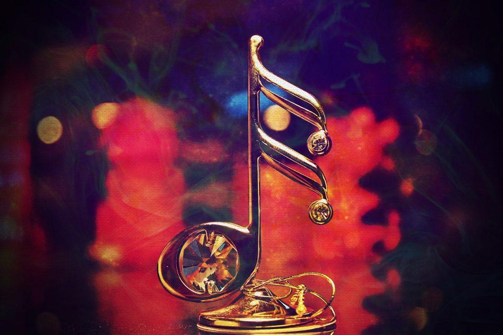 music, nota, decorative